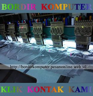 Jasa Bordir Komputer Murah di Surabaya