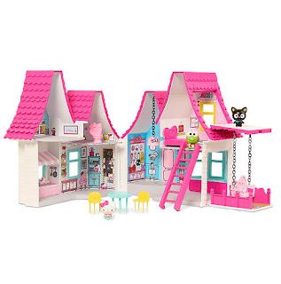 Gambar Rumah Hello Kitty Mainan 8