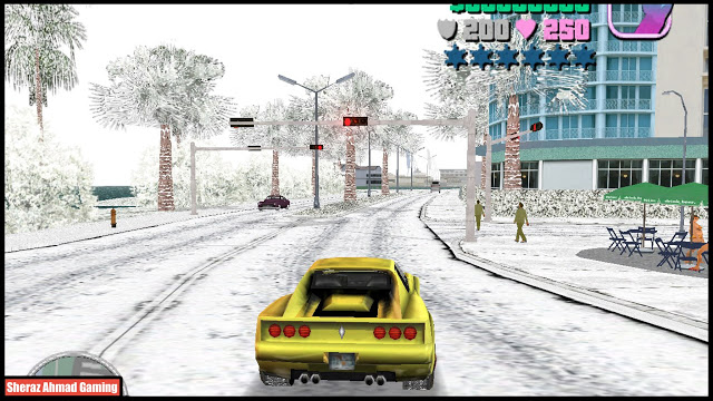 Snow Mod For GTA Vice City   GTA Vice City Mods