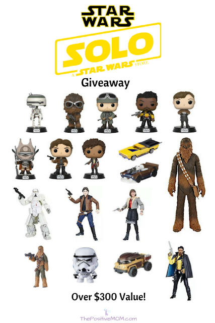 Solo: A Star Wars Story gift pack giveaway! #HanSolo #HanSoloEvent