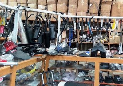 supplier suku cadang kendaraan bermotor di Sleman DIY