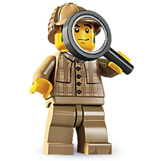 Lego Series 5 Detective Mini Figure