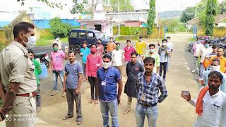 ग्राम नगर रक्षा समिति बटकाखापा की बैठक सम्पन्न