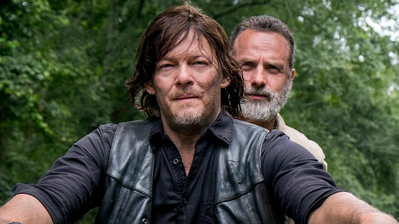 Daryl y Rick, en el episodio 9x04 The Obliged de The Walking Dead