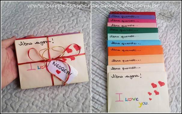 13 Ideias de Cartões Criativos - Dia dos Namorados Surpresas para