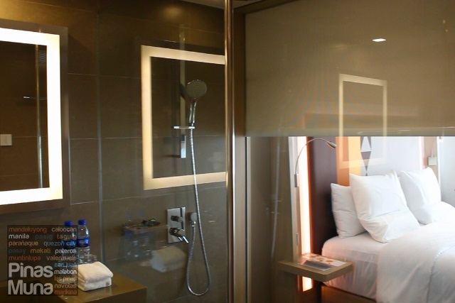 Novotel Manila Araneta Center ensuite bathroom