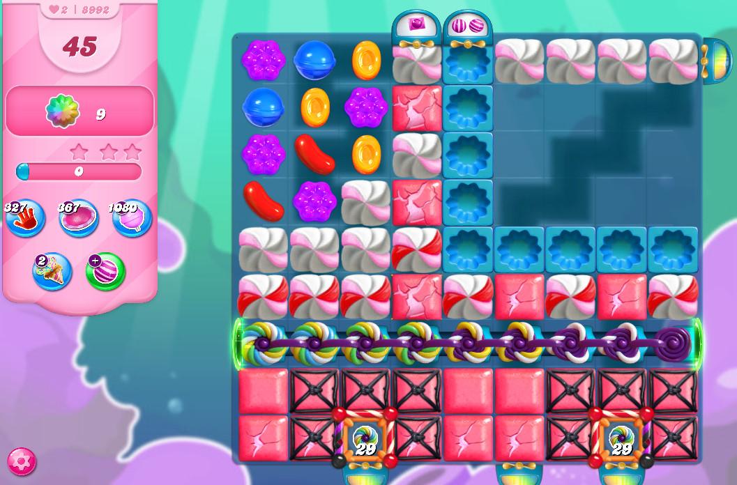 Candy Crush Saga level 8992