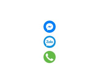 Tiện ích liên hệ Facebook Zalo Gọi điện