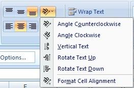 How to Rotate Text in Excel Cells in Hindi (एक्सेल में टेक्स्ट को रोटेट कैसे करे)