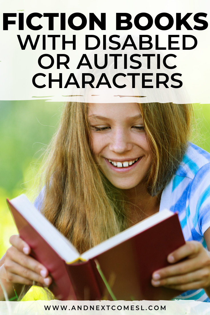 A great list of disability books and autism chapter books for kids