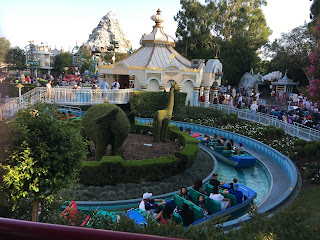 It's a Small World from the Disneyland Railroad