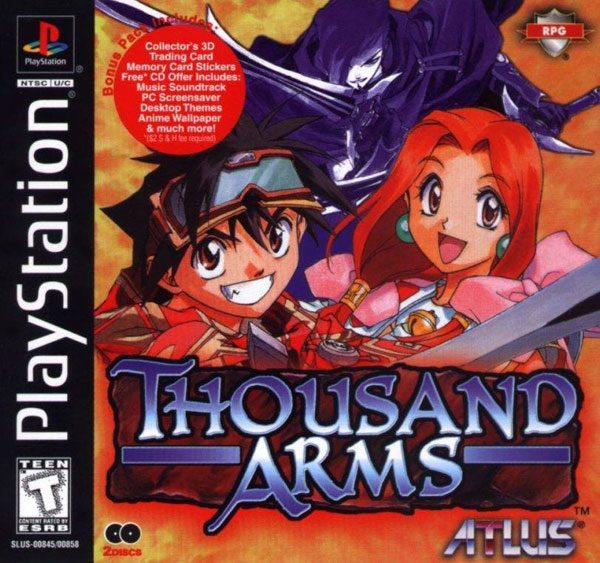 Thousand Arms - PS1 - ISOs Download