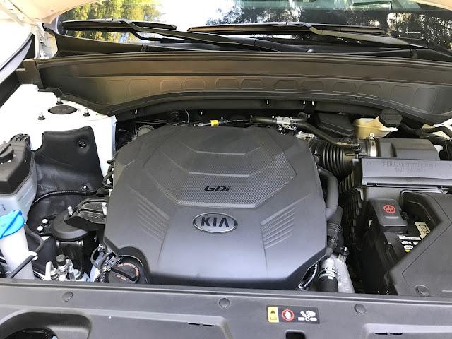 Engine in 2020 Kia Telluride SX V6 AWD