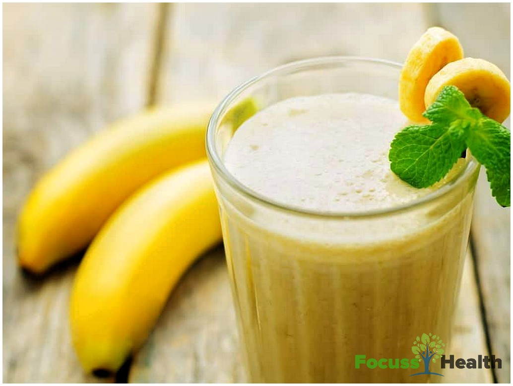 How To Make Milk Shake Of Banana