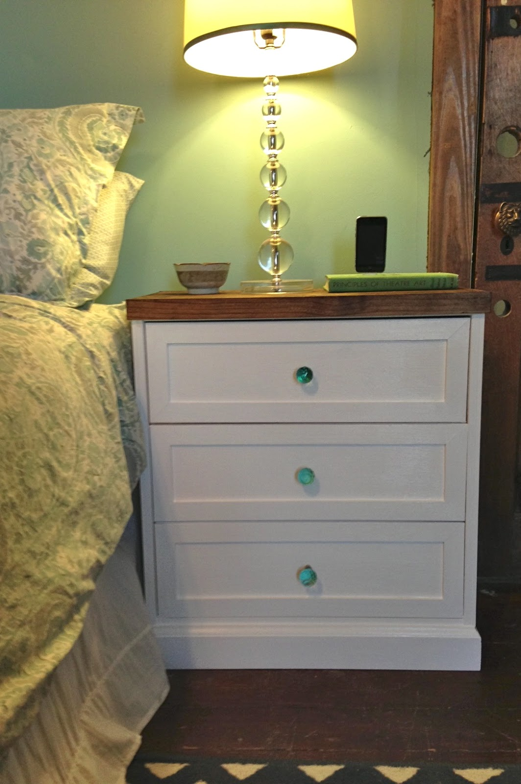 Ikea Rast Bedside Table Hack
