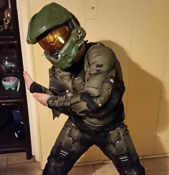 & Halo Master Chief Costume ~ Not only for Halloween!