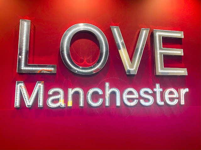 Love Manchester Sign TK Maxx Market Street
