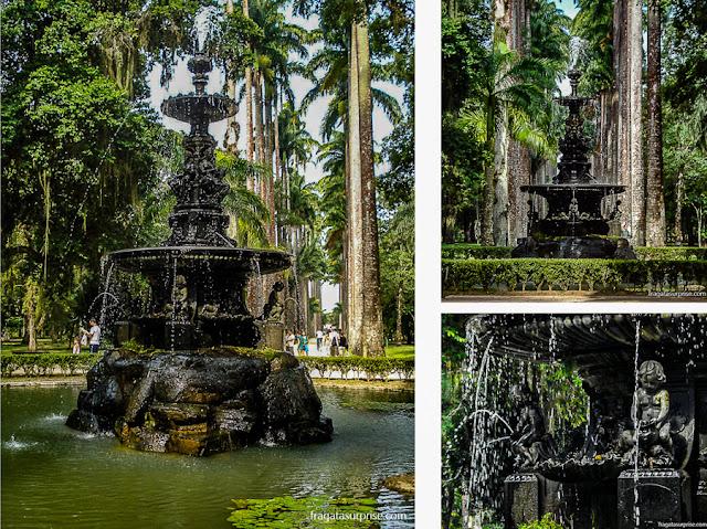 Chafariz das Musas, jardim Botânico do Rio de Janeiro