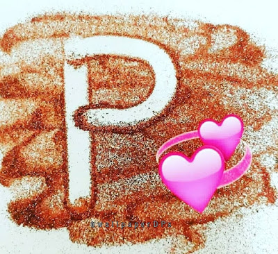 Stylish glitter Letters wallpaper alphabet Dp for WhatsApp