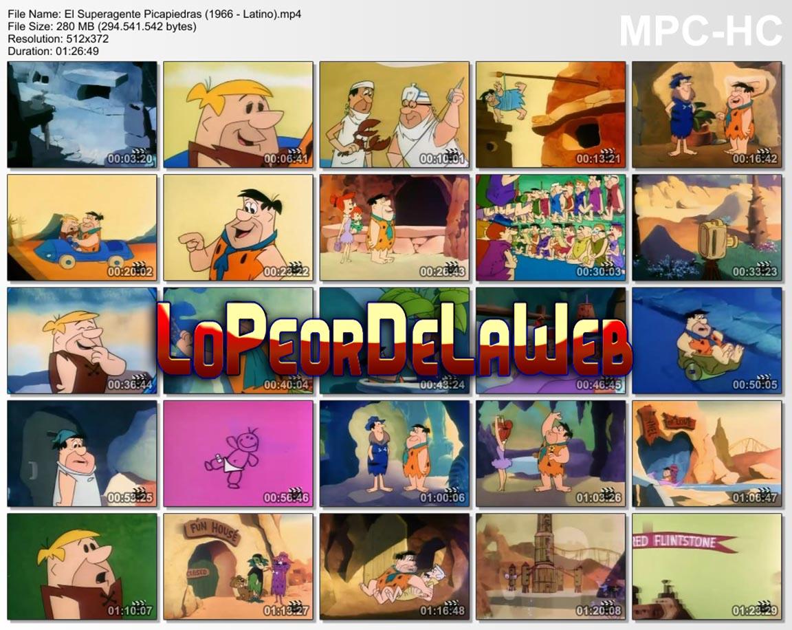 El Super Agente Picapiedra (1966 / Animación / Latino)