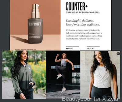 Beautycounter and Zyia  Active: Two Great Brands
