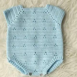 Body de bebé a Crochet