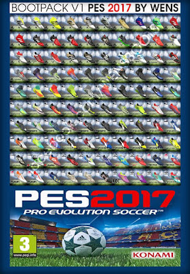PES 2017 BootPack ( 100 HD Boots ) by WENS
