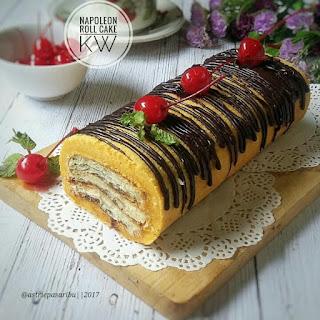 Ide Resep Napoleon Roll Cake Ala Kue Artis