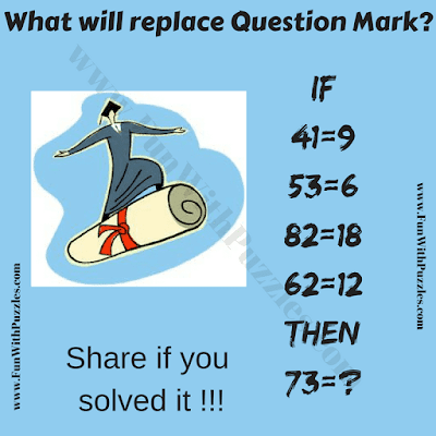 It is logical fun brain teaser in which your challenge is to decode the given if-then equations
