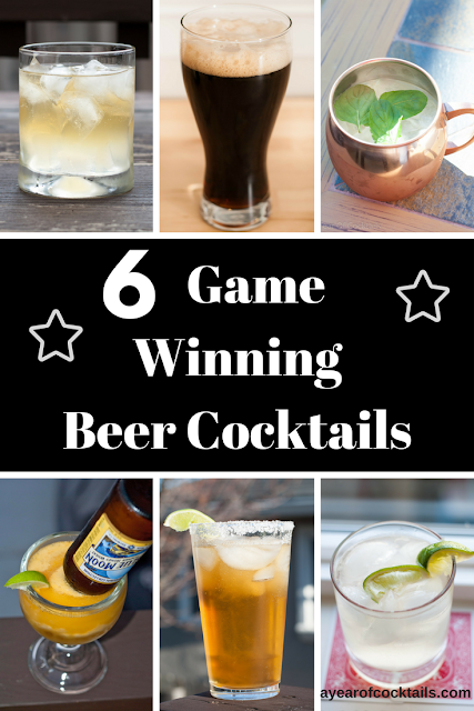 5 Game Winning Super Bowl Beer Cocktails.