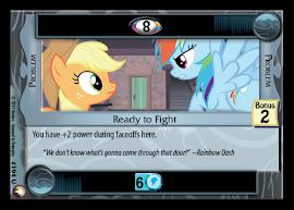 My Little Pony Ready to Fight Equestrian Odysseys CCG Card
