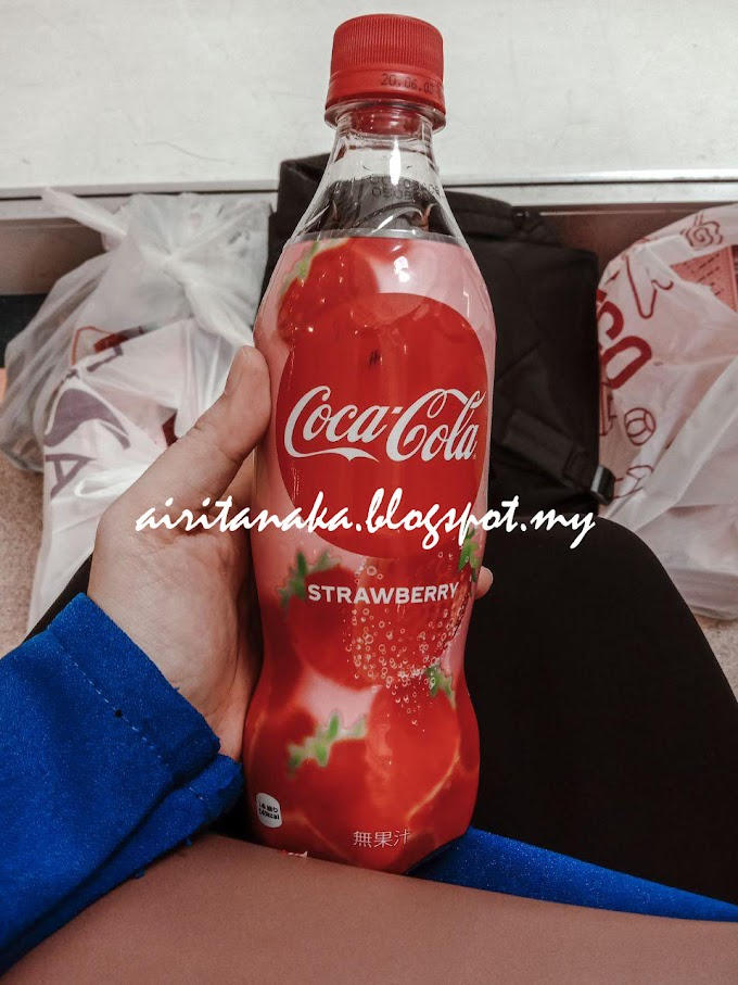 COCA COLA STRAWBERRY DARI FAMILY MART