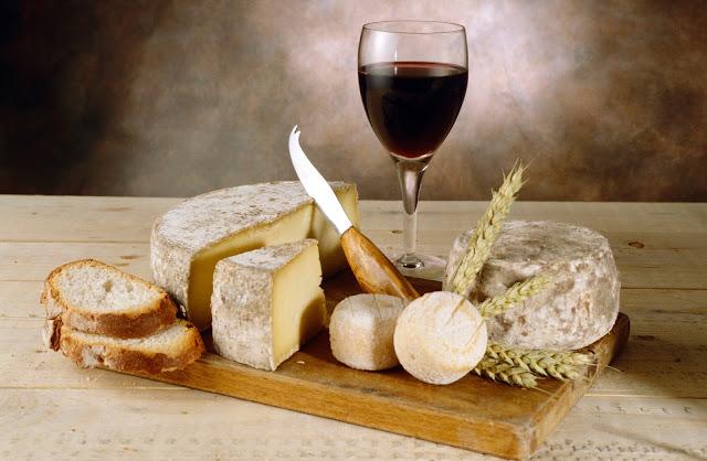 Vino y queso… la pareja perfecta