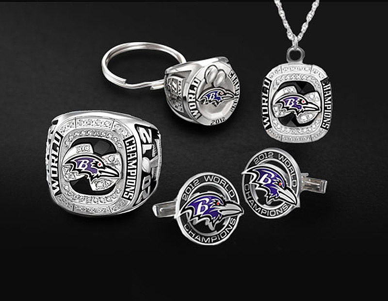 Baltimore Ravens jewelry collection