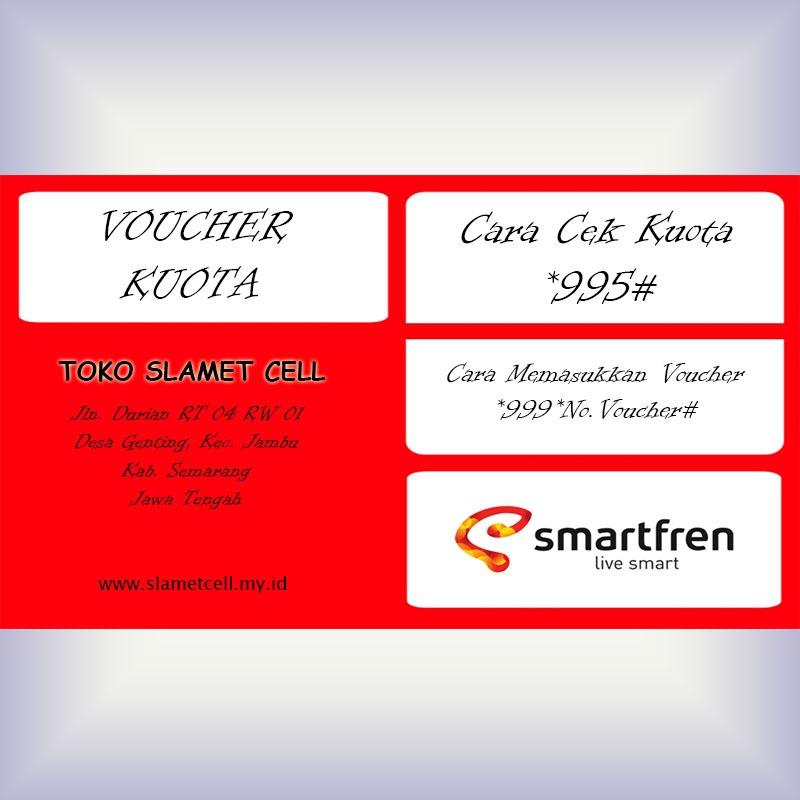 Voucher Kuota Internet Smartfren