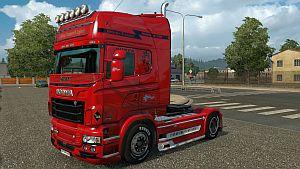 Norwegen skin for Scania RJL
