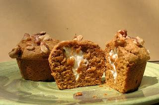 Pumpkin Cream Cheese Muffins 6