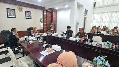 Bupati Asahan Pimpin Rapat Koordinasi Pembentukan Gugus Tugas Kabupaten Layak Anak