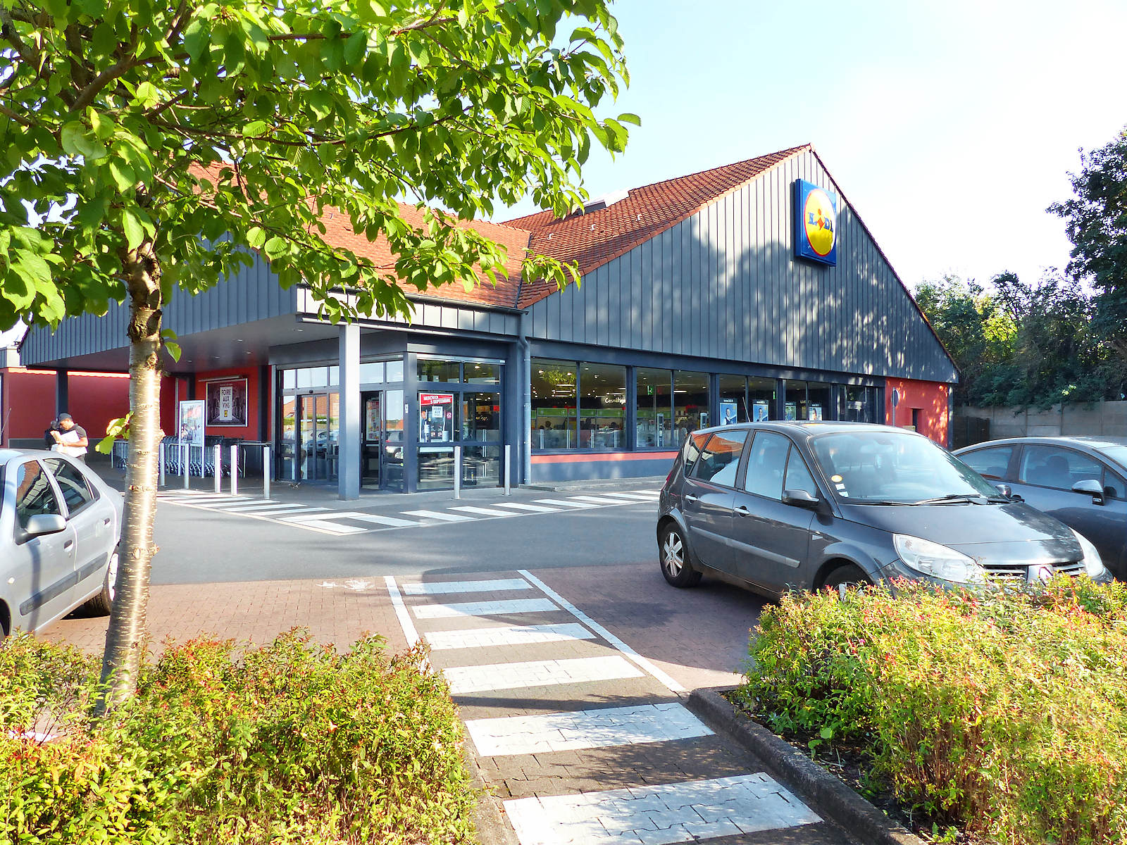Supermarché Lidl Levant, Tourcoing