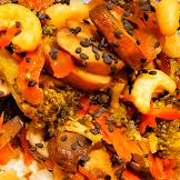 Super Easy Healthy Broccoli and Mushroom Stir Fry