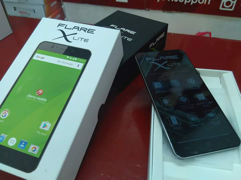Cherry Mobile Flare X Lite spotted