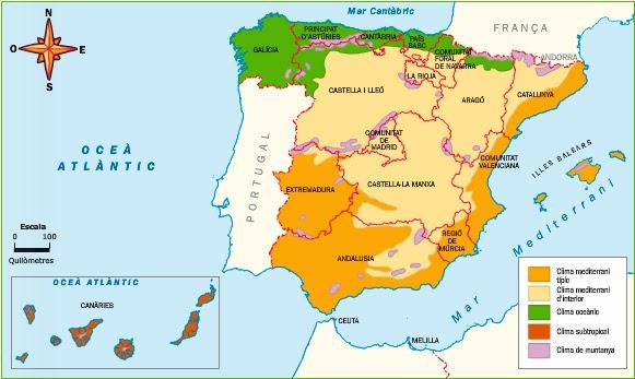 http://www.slideshare.net/mprats64/els-climes-d-espanya