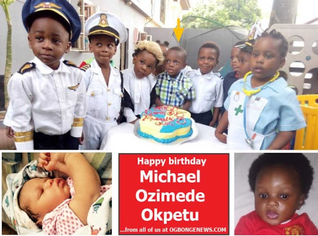 Happy birthday shoutout to Michael Ozimede Okpetu