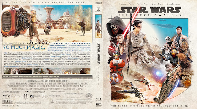 Star Wars: Episode VII - The Force Awakens DVD Cover