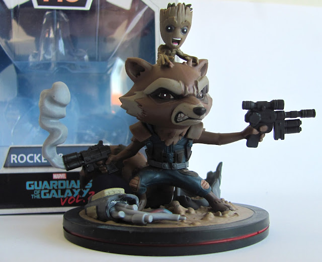 Rocket and Groot Figure