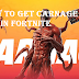 Carnage skins in Fortnite, How To Get Carnage in Fortnite Chapter 2 Season 8