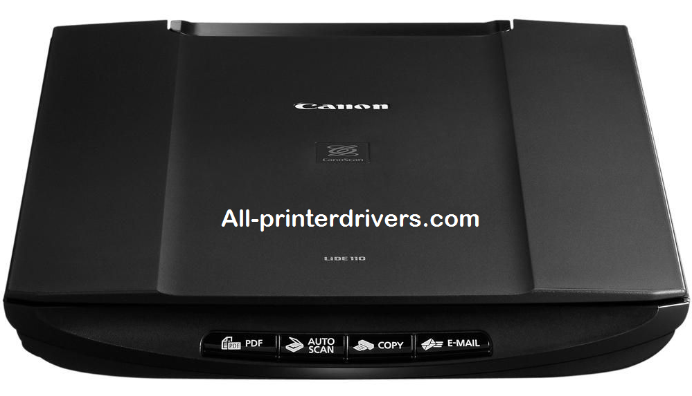 Canon LiDE 110 Driver For Windows And macOS - Download Free