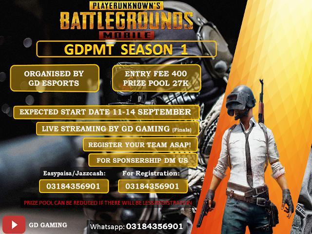 GD Tournament Season 1 With 27000 Prize Pool