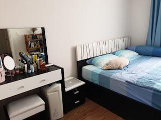 phòng ngủ chung cư avila 2 phòng ngủ 69m2