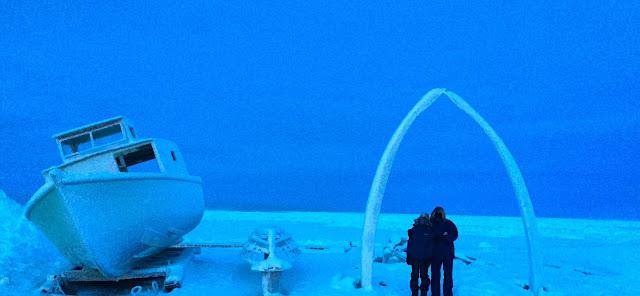Whale Bone Arch at Utqiagvik / Barrow Alaska | Supratim Sanyal's Blog (C) 2020 Supratim Sanyal
